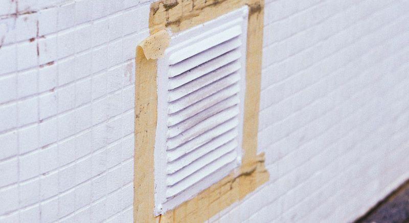 grilles de ventilation climatisées