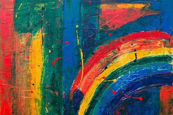 peintures à l'huile abstraites