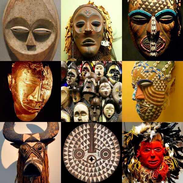 types de masques